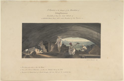 A cavern on the summit of Mt. Jetting, Rameswaram. December 1800